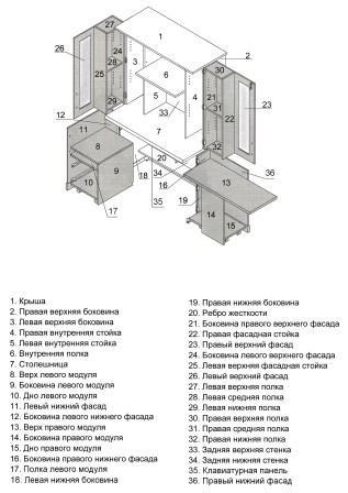 схема сборки (общий